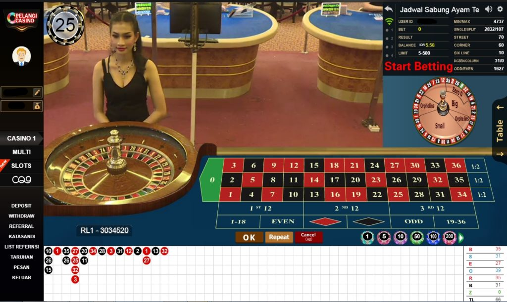Panduan Roulette adalah permainan casino yang berasal dari bahasa Perancis yang berarti roda