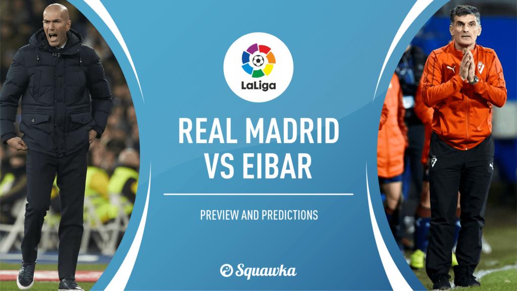 Real Madrid vs Eibar: Skor 3-1