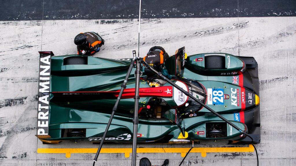 Sean Gelael Bawa Jota Sport Finis Pertama Seri 3 Asian Le Mans Series 2021